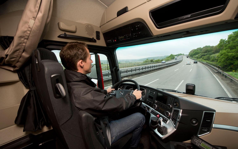 Kierowca ciężarówki może pracować tylko 48h