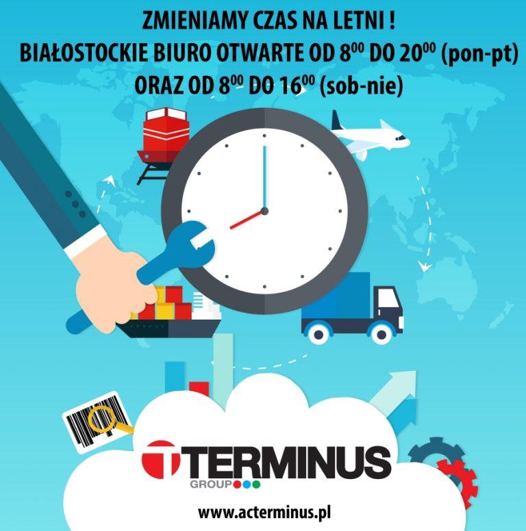 Zmiana godzin pracy Agencji Celnej w Białymstoku